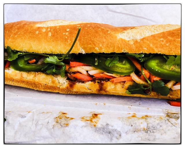 Spicy Chicken Bánh Mì- from Cali Bánh Mì