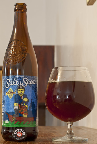 Review: Parallel 49 Salty Scot Sea Salted Caramel Scotch Ale by Cody La Bière