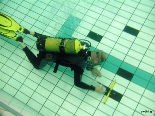 Onderwater tegelen