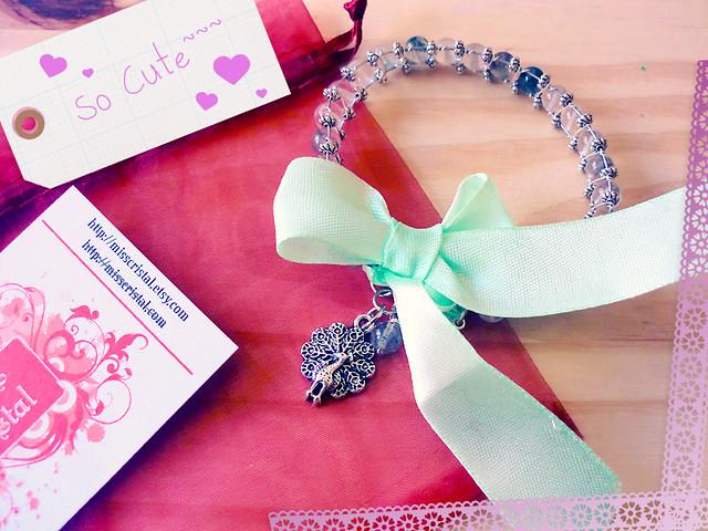 Miss Cristal Peacock Bracelet