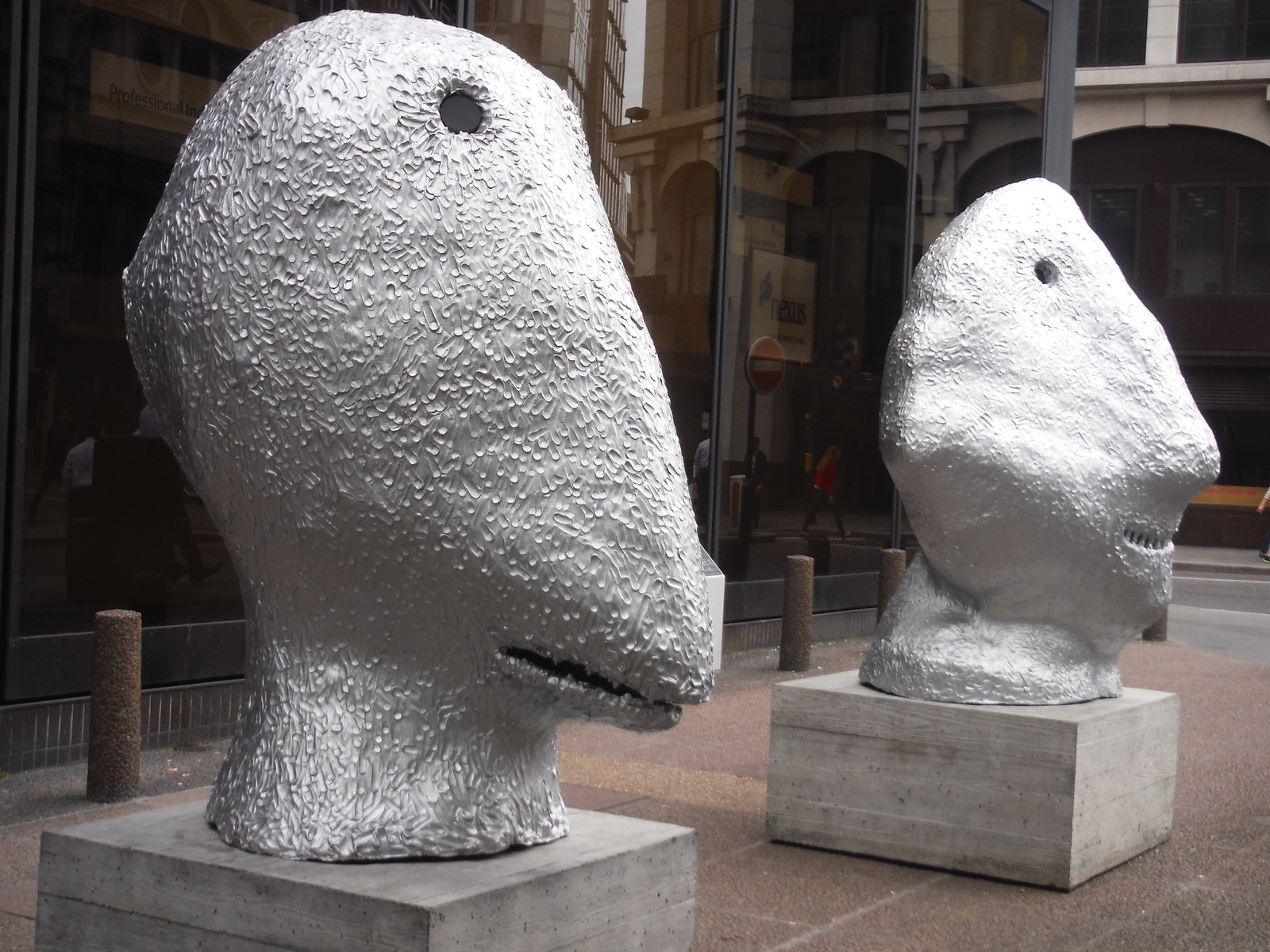 Ugo Rondinone - SUNRISE. east. July & SUNRISE. east. October SWC Walk Short 24 - Sculpture in the City