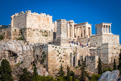 View of the Acropolis from Areopagus, Athens