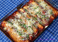 Grover's Cheesy Enchiladas