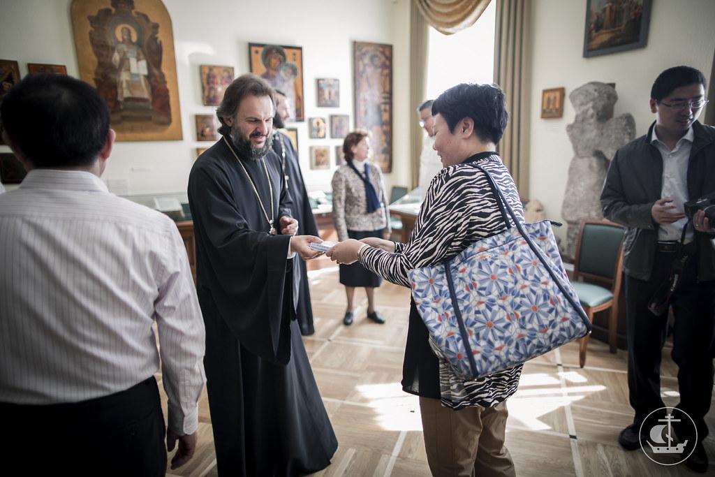27 августа 2016, Визит делегации Государственного управления КНР по делам религий / 27 August 2016, The visit of delegation of China's State Administration for Religious Affairs