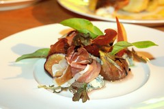 Figs, Blue Cheese, Parma Ham
