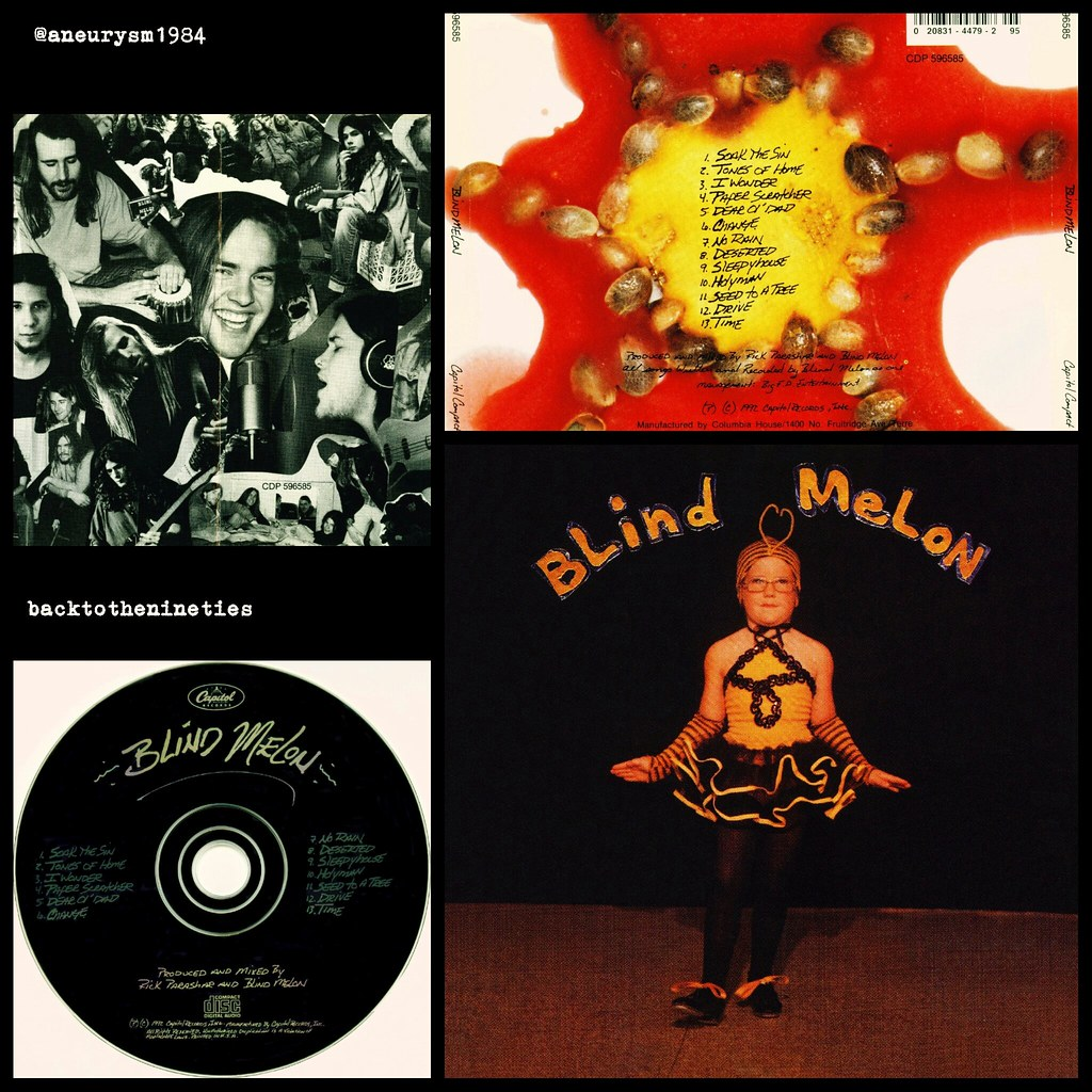 HappyAnniversary 24 years #BlindMelon #album #alternative… | Flickr