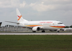 Surinam Airways Boeing 737-36N