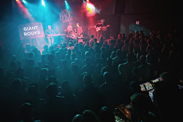 [Giant Rooks - 01.10.2016 / Way Back When Festival FZW Dortmund]