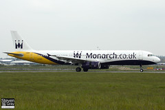G-OZBL - 864 - Monarch Airlines - Airbus A321-231 - Luton - 120518 - Steven Gray - IMG_1784