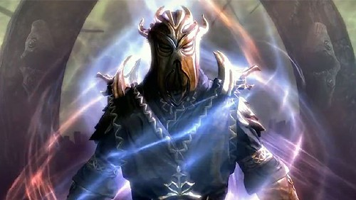 Skyrim Dragonborn Deathbrand Armor and Weapons Guide