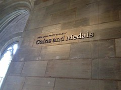 Bela Lyon Pratt Gallery Coins and Medals Sign (Custom)