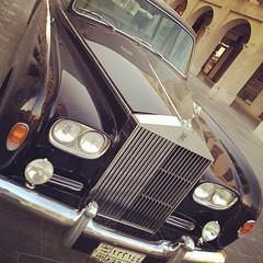 rolls-royce motor #car @ souk, doha, #qatar #style #arab #vintage #photography