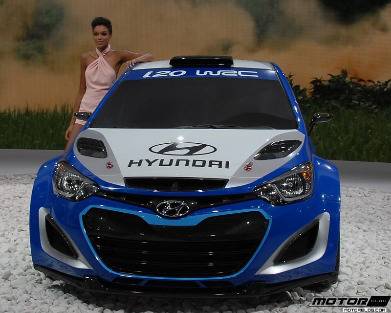 Paris motor show hyundai i20 september 2012 paris motor for Garage hyundai paris 18