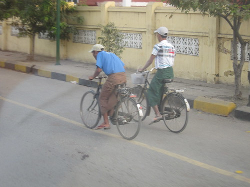 Bikes in Mandalay City