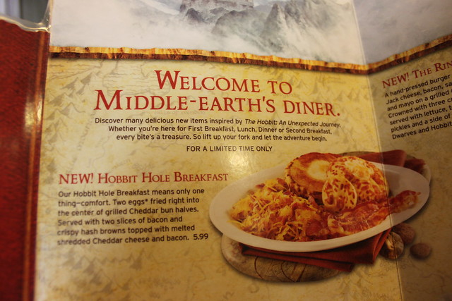 The Hobbit's Breakfast @ Denny's 07