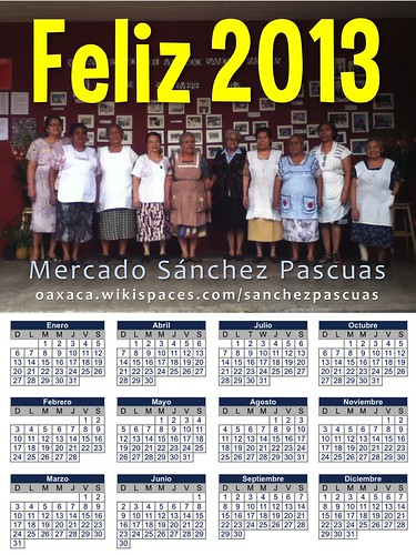 Feliz 2013: Sanchez Pascuas Market (great as a tabloid)
