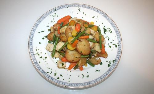 07 - Frosta Bratfkartoffel Fisch Pfanne / Frosta potato fish fry - Fertiges Gericht