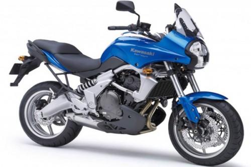 2009 Kawasaki Versys - Blue - FTR Forums
