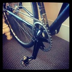 No longer commuting on race bike.