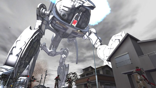 Earth Defense Force 2017 Portable on PS Vita
