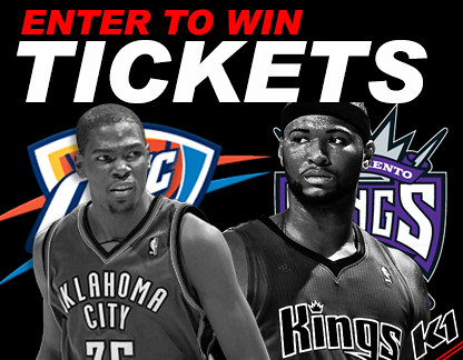 8293862495 f303db82a1 Win tickets to see Sacramento Kings vs Oklahoma City Thunder!