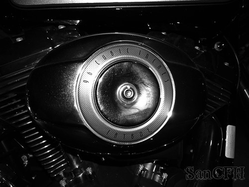 Harley Davidson engine detail