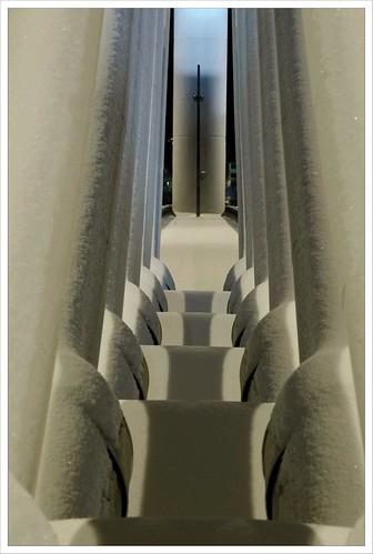 bridge snow night rovaniemi symmetry conradharley