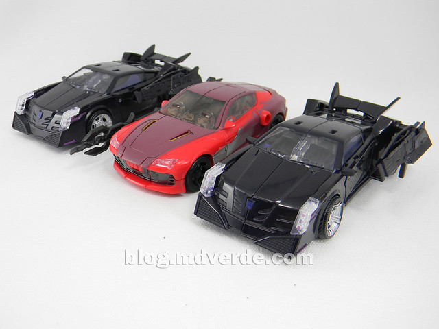 Transformers Knock Out Deluxe - Prime RID - modo alterno vs Vehicons