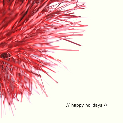// happy holidays //