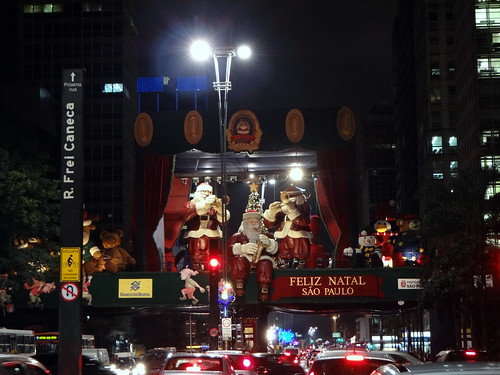Natal na Avenida Paulista