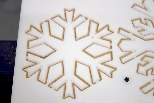 CNC Snowflakes 7