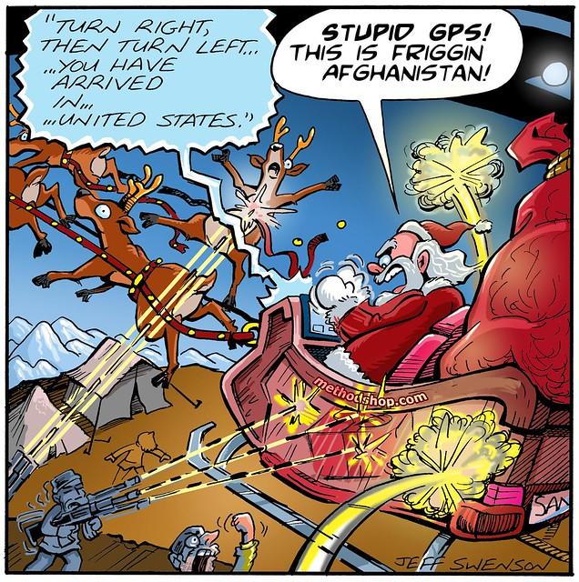 Santa's GPS Fail