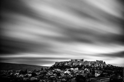 sky bw white black architecture clouds canon dawn published athens greece acropolis canonefs1022mmf3545usm canoneos40d longexposureparthenon