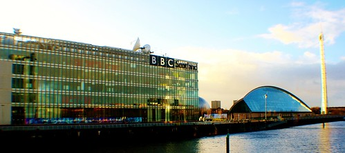 BBC Building, Science Centre and Glasgow Tower