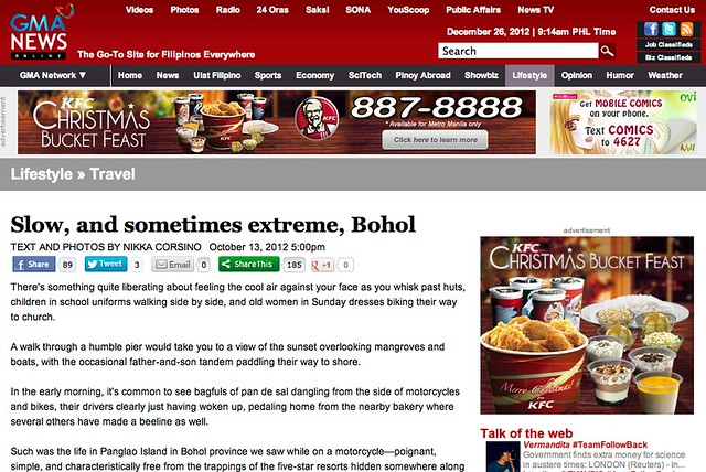 MEDIA | GMA News Online | Bohol
