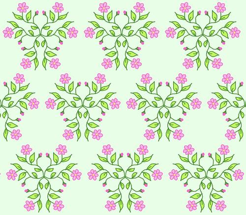 Many Pink Daisies (Kaleidoscope) by randubnick