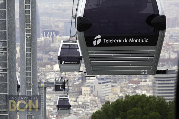telefèric de Montjuïc, Barcelona