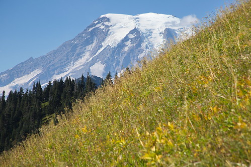 Mount Rainier from the Tatoosh Wilderness by The Bacher Family
