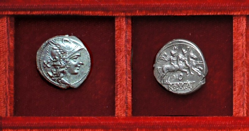 RRC 171 D denarius, Ahala collection, coins of the Roman Republic