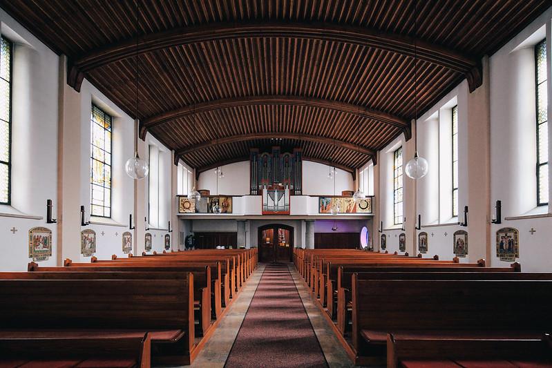 St. Barbara Kirche.