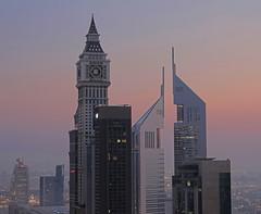 Al Yaqoub and Emirates Towers