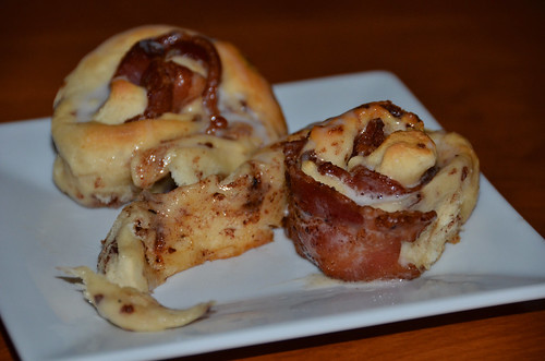 Bacon Cinnamon Rolls