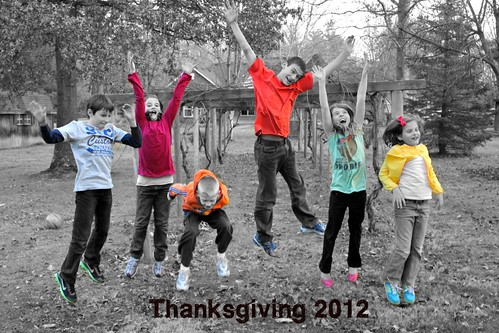 Thanksgiving 2012: Cousining at it's best