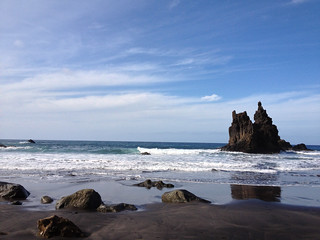 صورة Playa de Benijo قرب Taganana. tenerife espagne ilescanaries santacruzdeténérife