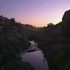 At Diversion Dam, Bidwell Park