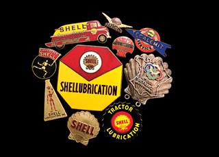 Shell Oil & Petrol Badges | 1930s - 1950s