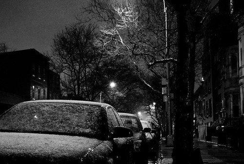 Snow in Brooklyn on 12.29.12