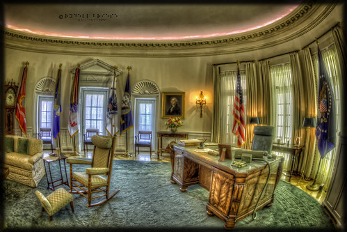 LBJ Oval Office