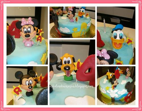 Detalhes Bolo Casa Do Mickey by Osbolosdasmanas
