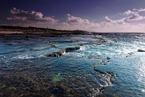 sunset seascape beach water fisherman day cloudy sony hitech tokina1116mmf28 mygearandme sonya55
